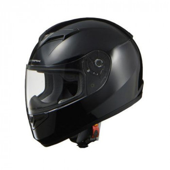 リード工業 STRAX フルフェイスヘルメット ブラック Mサイズ SF-12【同梱・代引き不可】