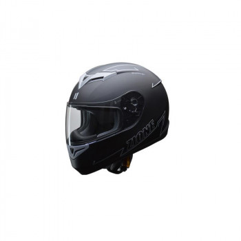 リード工業 LEAD ZIONE フルフェイスヘルメット グレー Lサイズ【同梱・代引き不可】