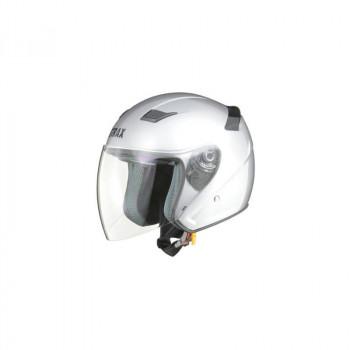 【クーポンで100円OFF】 リード工業 STRAX ジェットヘルメット シルバー LLサイズ SJ-8【同梱・代引き不可】