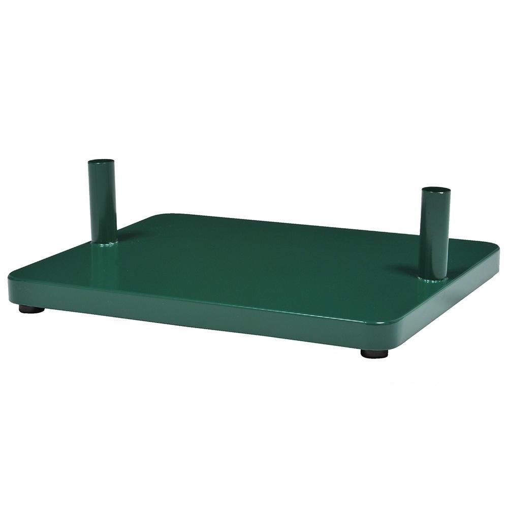 KGY セレクトカラーポスト アーチスタンド専用 自立ベース GR・グリーン AB-1【同梱・代引き不可】