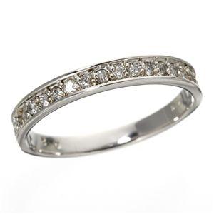 同梱・代金引換不可 0.2ct ダイヤリング 指輪 エタニティリング 19号