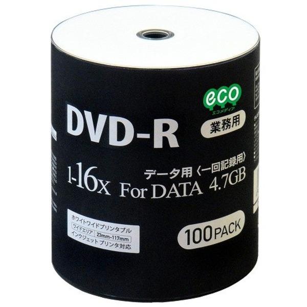 磁気研究所 データ用DVD-R 4.7GB 16倍速 ワイドプリンタブル対応 100枚バルクパッケージ DR47JNP100_BULK-6P 【6個セット】【同梱・代引不可】