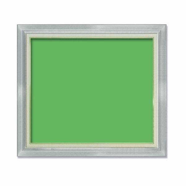 【油額】油絵額・キャンバス額・金の油絵額・銀の油絵額 ■F30号(910×727mm)「シルバー」【同梱・代引不可】