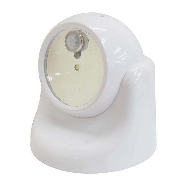 (業務用15個セット) TRAD 乾電池式LEDセンサーライト 【ホワイト】 TSL-1W【同梱・代金引換不可】