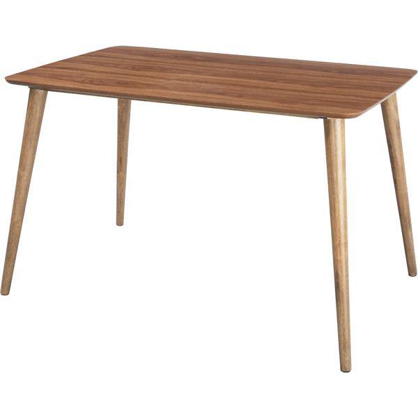 ダイニングテーブル 【Tomte】トムテ 長方形 木製(天然木) TAC-242WAL【同梱・代引不可】