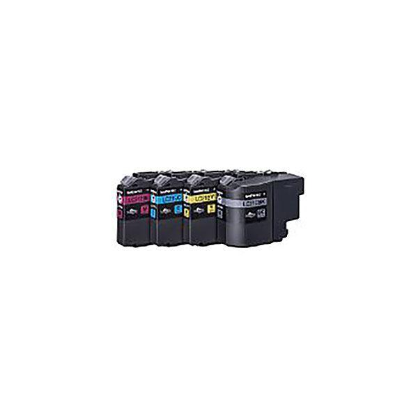 【純正品】 BROTHER ブラザー インクカートリッジ 【LC21E-4PK 4 色】【同梱・代引不可】