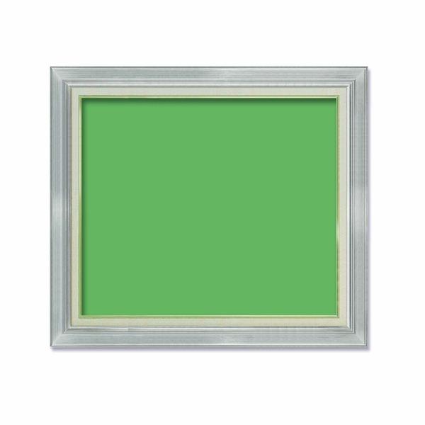 【油額】油絵額・キャンバス額・金の油絵額・銀の油絵額 ■P20号(727×530mm)「シルバー」【同梱・代引不可】