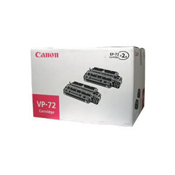 【純正品】 Canon キャノン インクカートリッジ/トナーカートリッジ 【VP-72】 2本入【同梱・代引不可】