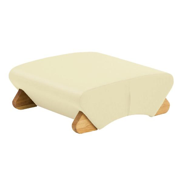 デザイン座椅子 脚:クリア/ビニールレザー:アイボリー 【Mona.Dee モナディー】WAS-F【同梱・代引不可】