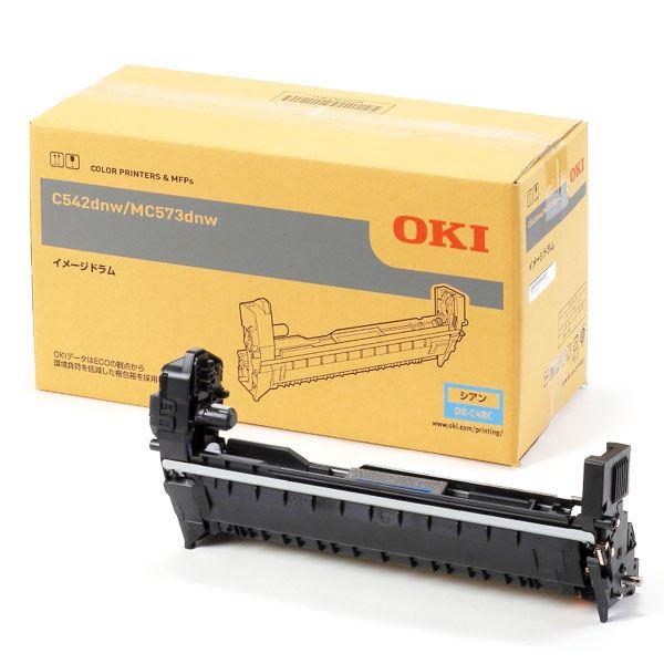 【純正品】OKI 沖電気 イメージドラム【DR-C4BC シアン】【同梱・代金引換不可】
