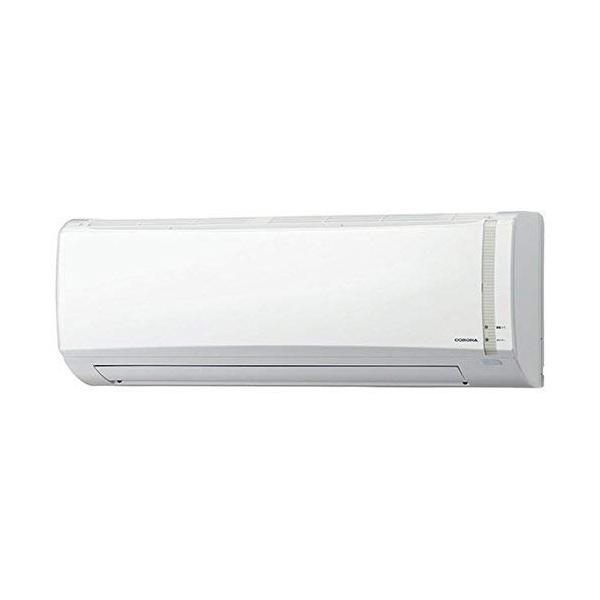 エアコン 6畳用 【工事費込】 Nシリーズ 内部乾燥モード 日本製 100V CORONA(コロナ) ホワイト CSH-N2218R-W 【代引不可】
