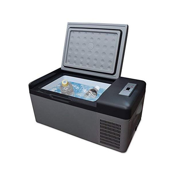 車載冷凍冷蔵庫 15L 家庭用 大容量 AC/DC 電源両用 たっぷり15L!車の中でも、お部屋の中でも使える! 冷蔵保温 車載冷凍庫 車載冷蔵庫 三金商事 LCH-25 【代引不可】【同梱不可】