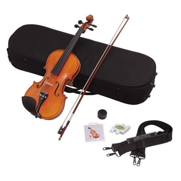 初心者にオススメ!いまからはじめるヴァイオリン♪ Hallstatt(ハルシュタット) バイオリン 初心者入門 6点セット(サイズ:4/4) V45 【代引不可】【同梱不可】