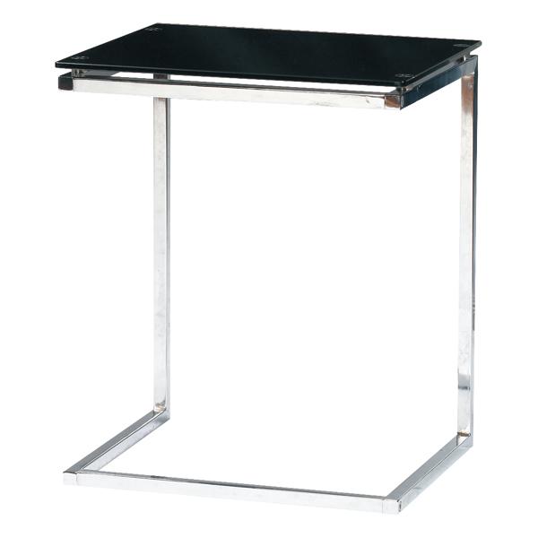 インテリア家具 サイドテーブル PT-15BK 【代引不可】【同梱不可】