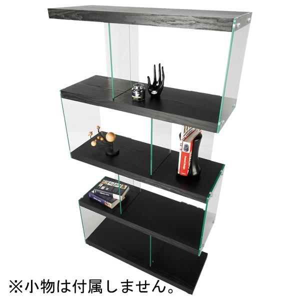 インテリア家具 シェルフ IS-684BK 【代引不可】【同梱不可】