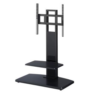 HAYAMI コーナー対応壁寄せテレビスタンド 37~47インチ KF-370 【代引不可】【同梱不可】