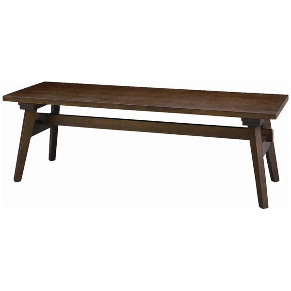 ナチュラルなデザイン&カラーが人気の木製ベンチ モティ ベンチ RTO-746BBR 【代引不可】【同梱不可】
