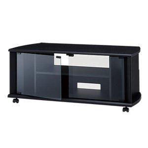 マットブラックの定番スタイリング ハヤミ工産 (HAYAMI) TIMEZ BSシリーズ32v~42v型対応テレビ台 tv-bs100h 【代引不可】【同梱不可】