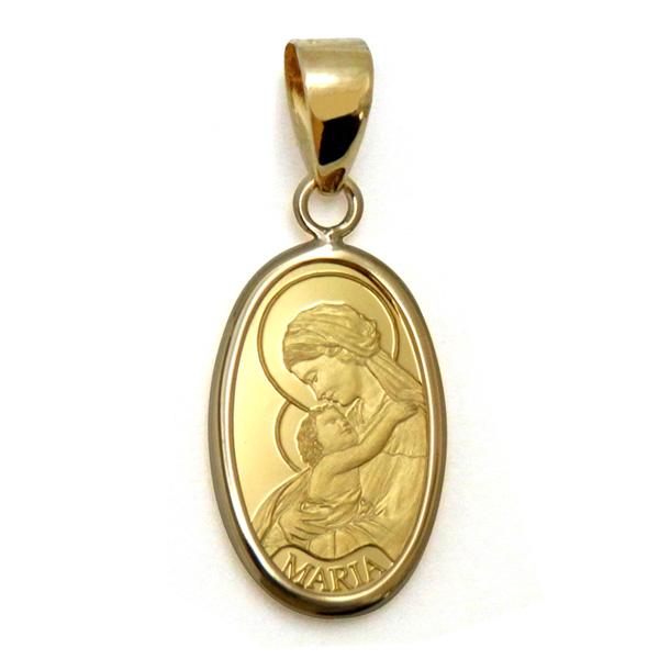 K24マリアゴールドインゴットペンダントメダイ純金コインスイスパンプ社製K24純金聖母マリアペンダントトップ1g 【代引不可】