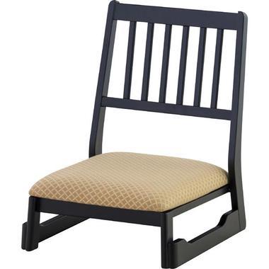 椅子 和風 法事チェア ロータイプ BC-1040FOR 和室にぴったり 背もたれ付きの正座椅子 【代引不可】【同梱不可】