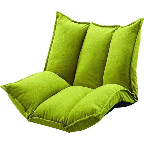 ソファー シングルマルチソファ 坐いす 座椅子 AZUMAYA LSS-27GR GR おしゃれ デザイン家具 インテリア 家具 【代引不可】【同梱不可】