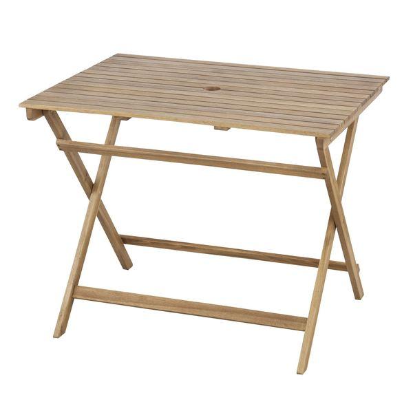 バイロン 折りたたみテーブル AZUMAYA NX-903 おしゃれ デザイン家具 インテリア 家具 【代引不可】【同梱不可】