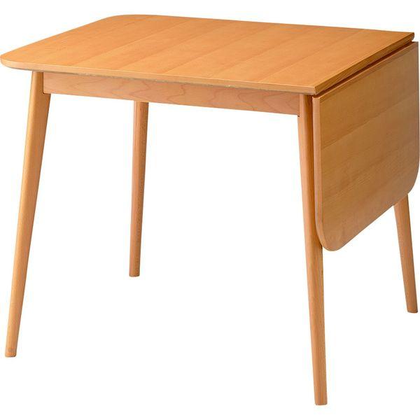 テーブル ロッキ ドロップリーフテーブル 机 AZUMAYA TK-113T T おしゃれ デザイン家具 インテリア 家具 【代引不可】【同梱不可】