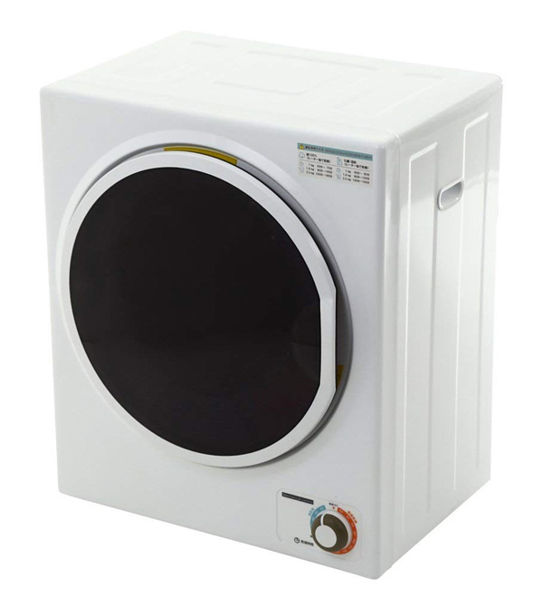 【300円OFFクーポン対象】 小型衣類乾燥機 容量2.5kg 1人暮らしにも最適サイズ 衣類乾燥機 小型 服乾燥機 SunRuck(サンルック) SR-ASD025W