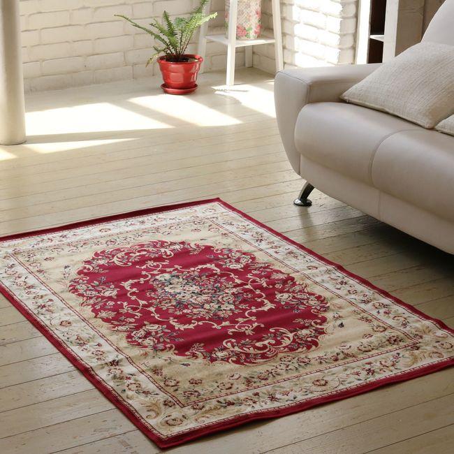 ビスコースラグ 100×140 カーペット 絨毯 じゅうたん ラグ 【代引不可】【同梱不可】