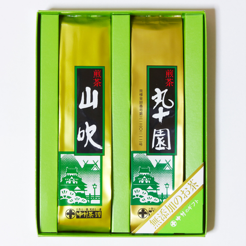 中村茶舗 煎茶詰合せ 卓出 日本正規代理店品