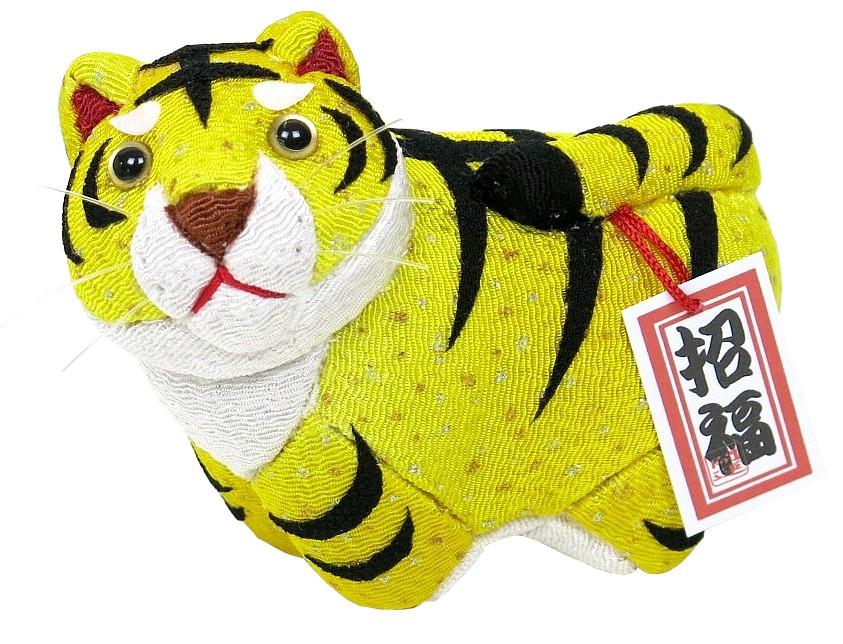 木目込材料セット 虎 トラ 寅年 木目込み人形 新発売 即出荷 寅生 完成品ではありません 黄色 布付き No.2
