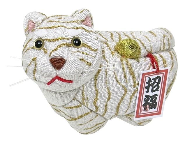 木目込材料セット 虎 最新アイテム トラ 寅年 最安値 木目込み人形 白虎 No.3 寅生 完成品ではありません 布付き