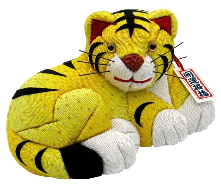 木目込材料セット 虎 トラ 寅年 木目込み人形 爆買い新作 メーカー直送 陽寅 黄色 布付き No.9 完成品ではありません