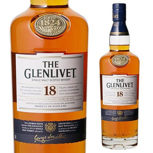 ザ・グレンリベット 18年 700ml シングルモルト ウイスキー