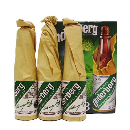 薬味リキュール ドイツ 物品 ウンダーベルグ44% 20ml×3本 新作 大人気 プレゼント ギフト 4034100029087