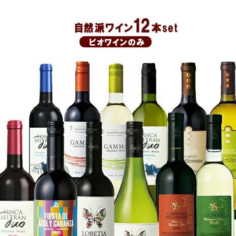 風と大地の自然派ワイン・極上のオーガニック12本! ワインセット ビオワインだけの12本セット 自然派ワイン12本 夢の競宴 送料無料(一部地域除く) お彼岸 母の日 プレゼント