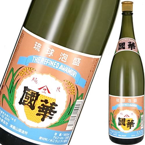 1993年製造 【希少:レトロ】 津嘉山酒造所 1800ml 國華 本場泡盛 25度