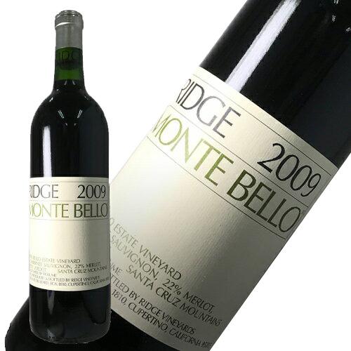 リッジ・ヴィンヤーズ モンテベロ 2009 (750ml)世界最高のカベルネ (正規品)カリフォルニア 赤ワイン