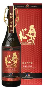 【20%OFFクーポン配布中】【奥の松酒造】300周年記念酒 純米大吟醸雫酒 720ml