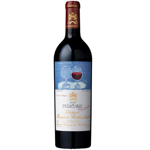 赤ワイン シャトー・ムートン・ロートシルト 2014 フランス ボルドー メドック1級