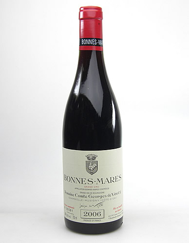 【コント・ジョルジュ・ド・ヴォギュエ】ボンヌ マール グラン・クリュ[2006]【送料無料】【高品質ワイン】