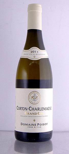 ドメーヌ・ポワゾ コルトン・シャルルマーニュ[2011]【送料無料】【高品質ワイン】【正規品】