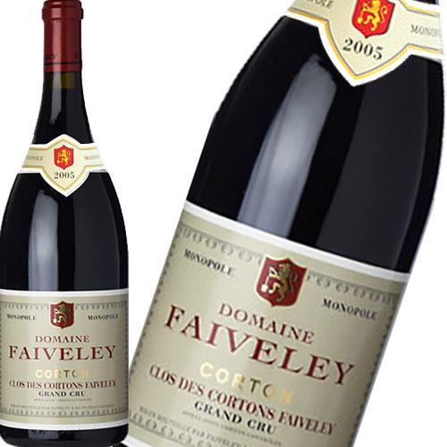 赤ワイン フルボディ 辛口 フェヴレ コルトン クロ デ コルトン グラン クリュ 750ml 2005 フランス ブルゴーニュ