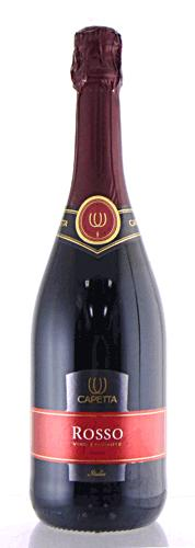 Capita ballerina-Rosso spmantedolce sweet sparkling wine 750 ml Italy sparkling red wine