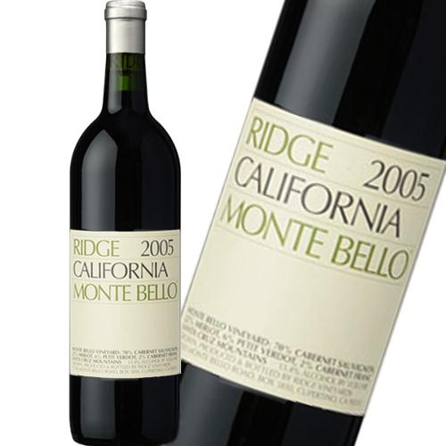 リッジ・ヴィンヤーズ モンテベロ [2006] (750ml)世界最高のカベルネ (正規品)カリフォルニア 赤ワイン パリスの審判