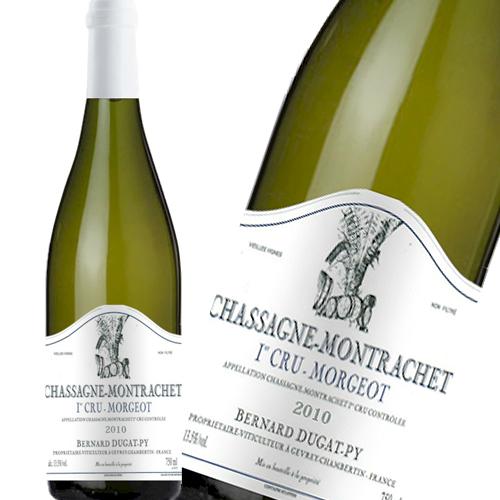 白ワイン ベルナール デュガ ピィ シャサーニュ モンラッシェ プルミエ クリュ モルジョ [2010] デュガピ