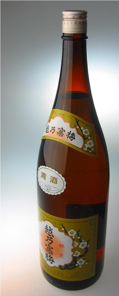 越乃寒梅 激安 激安特価 送料無料 白ラベル 清酒 1800ml 10%OFF 4573243750170 プレゼント ギフト 新潟の日本酒