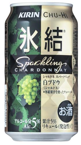 1箱长颈鹿Chu-Hi结冰霞多丽干白葡萄酒发泡350ml*24罐