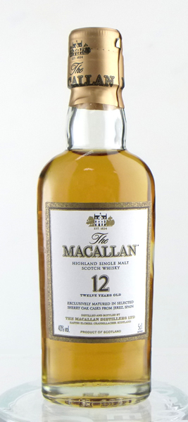 50 ml of the McCarran 12 years miniature 02P01Sep13