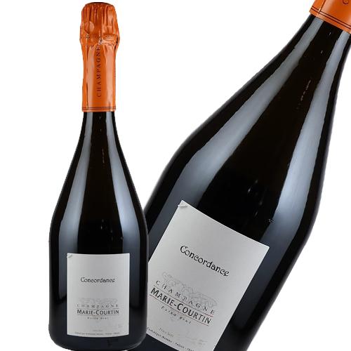 マリー・クルタン・シャンパーニュ コンコルダンス エクストラ・ブリュット750ml SO2無添加 レコルタン・マニュピラン ビオディナミ 自然派シャンパン